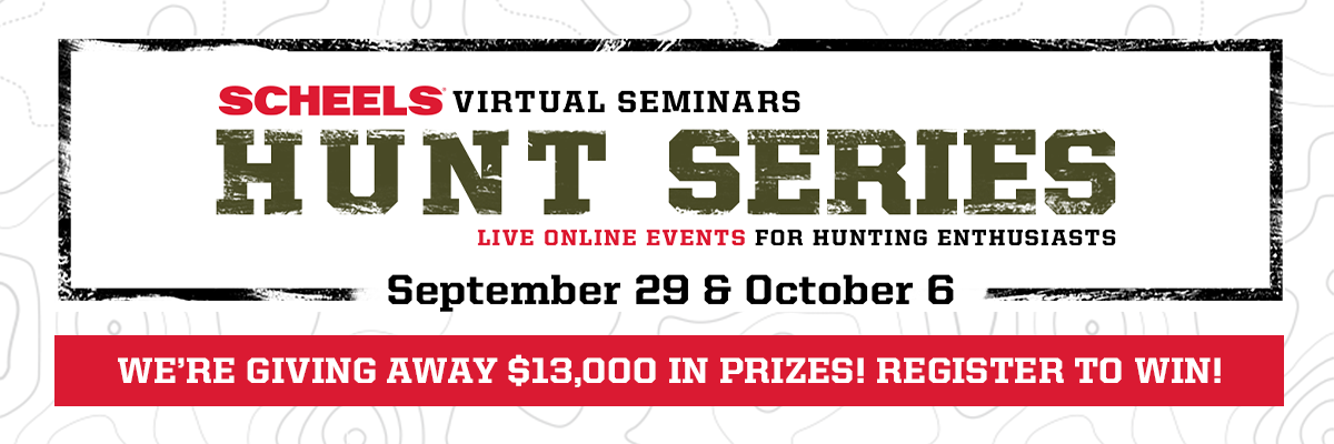 SCHEELS  |  Virtual Seminars Hunt Series