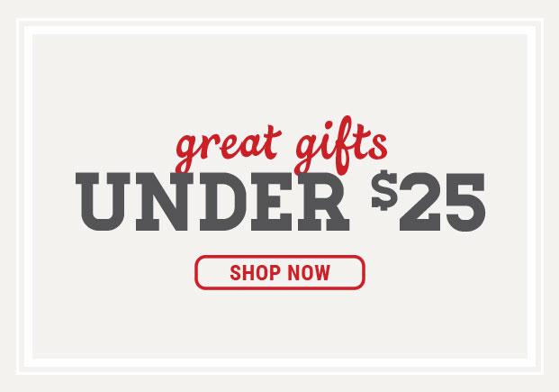 SCHEELS  |  Gifts Under $25